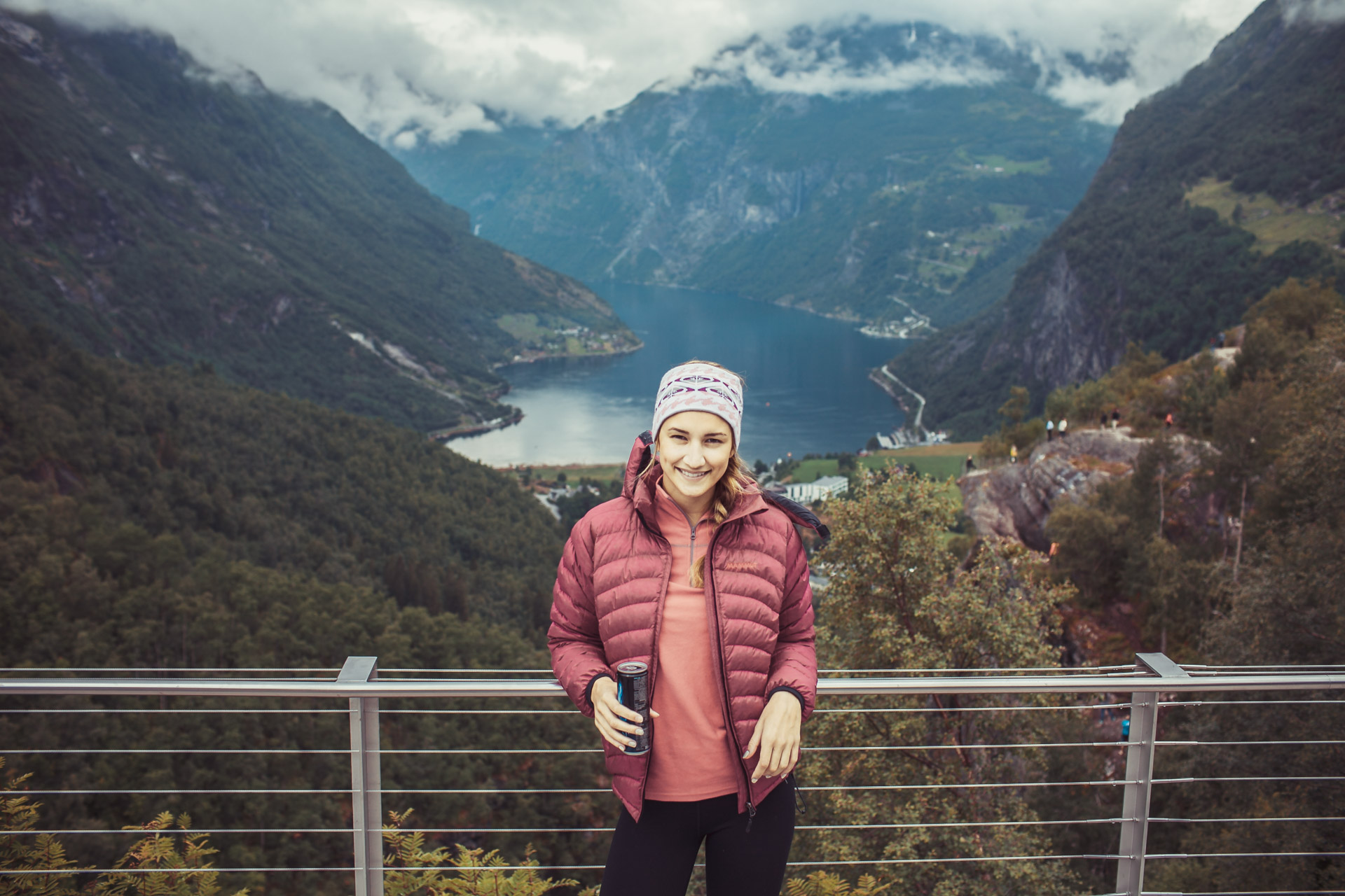 Viewpoint above Geiranger Fjord.